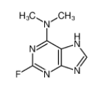 2-fluoro-N,N-dimethyl-7H-purin-6-amine|653-98-5