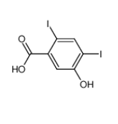 4,6-Diiod-3-hydroxybenzoesaeure|53279-77-9